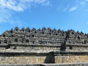 Le site de Borobudur - 14.12.2017