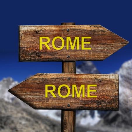 Tous les chemins mènent à Rome - Nocturne